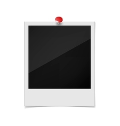 Photo frame on a white background vector