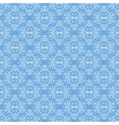 Seamless texture on azure ornamental backdrop vector