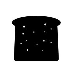 toast icon vector image
