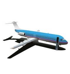 Commercial Airplane Stock vector image vector image