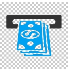 ATM Cashout Icon vector