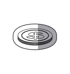 coin icon stock image vector image