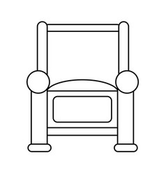 Couch chair icon image vector