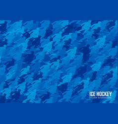 ice hockey background vector image