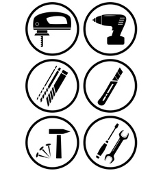 Icon construction equipment for repair vector