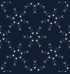 indigo blue glowing stars texture seamless vector image