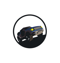 Offroad vehicle design vector