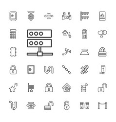 System icons vector