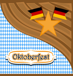 Textured background with flags of germany vector