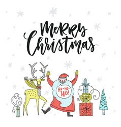 Unique Christmas Design vector image