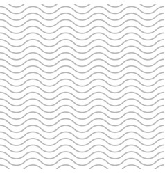 Wave background seamless pattern gray wave vector