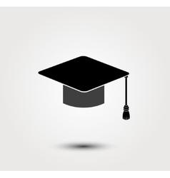 graduate cap icon vector image vector image
