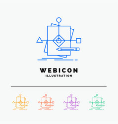 algorithm business foretelling pattern plan 5 vector image