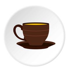 Cup icon circle vector
