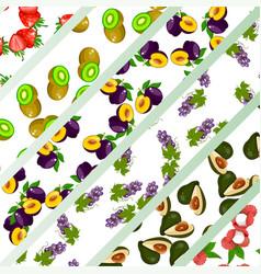 Exotic juice packaging design vector