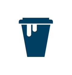 fresh juice drink beverage logotype vector image
