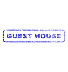 Guest house rubber stamp vector