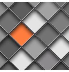 Monochrome square cells vector