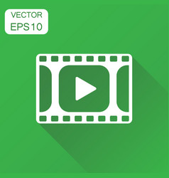 Play icon business concept play video pictogram vector