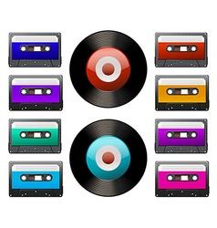 Tap cassette vector