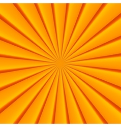 Orange abstract rays circle background vector
