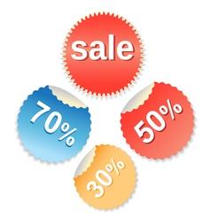 special offer labels set vector image vector image