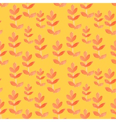 Watercolor tribal seamless pattern vector image vector image