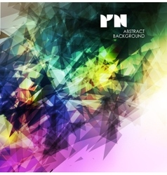 Abstract modern colorful vector image