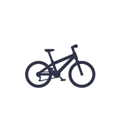 Bicycle mountain bike icon vector