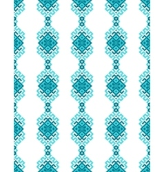 Ethnic seamless pattern with traditional ornament vector image