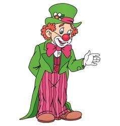 Funny Circus Clown vector