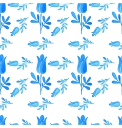 seamless pattern in russian style vector image