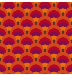 Retro inspired pattern vector image vector image