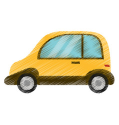 drawing automobile vehicle image vector image