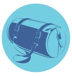 sports bag vector image
