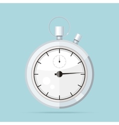Clock Logo Icon Isolated Watch Object vector image