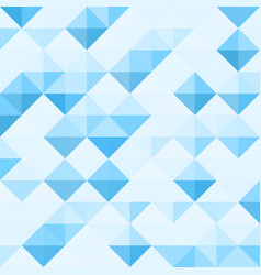abstract background pattern with triangle geometry vector image
