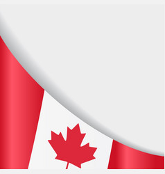 canadian flag background vector image