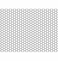 hexagon honeycomb seamless pattern vector image
