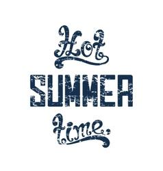 Hot summer time vector