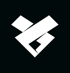 Initial letter l ll lj or ls logo template vector