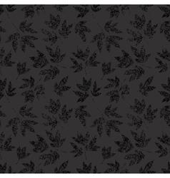 Light grunge floral seamless vector image