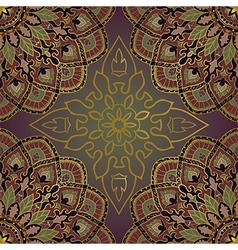 Oriental pattern of mandalas vector image