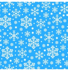 Snowfall pattern vector