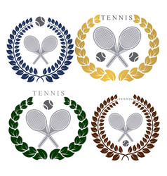 The theme tennis vector