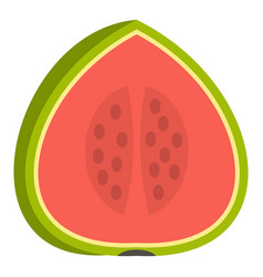 Watermelon icon isolated vector