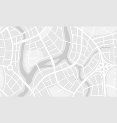 Abstract city map banner vector