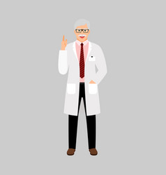 andrologist medical specialist vector image