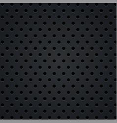black metal steel texture holes halftone vector image