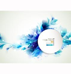 blue elements vector image